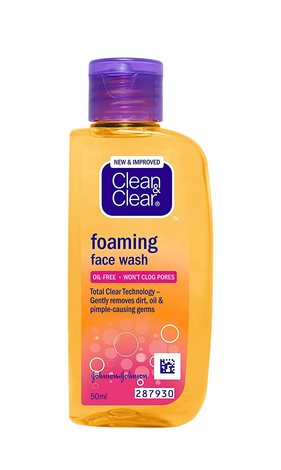 CLEAN & CLEAR FOAMING FACWASH