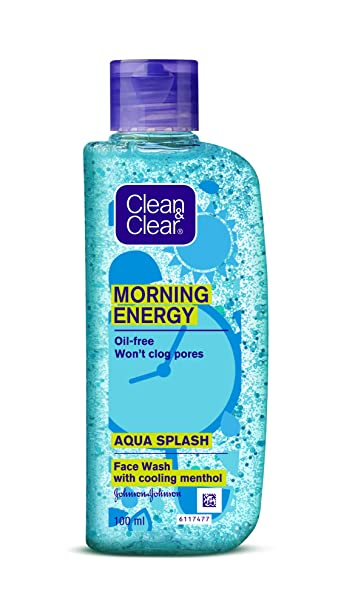 CLEAN & CLEAR AQUA SPLASH FACEWASH