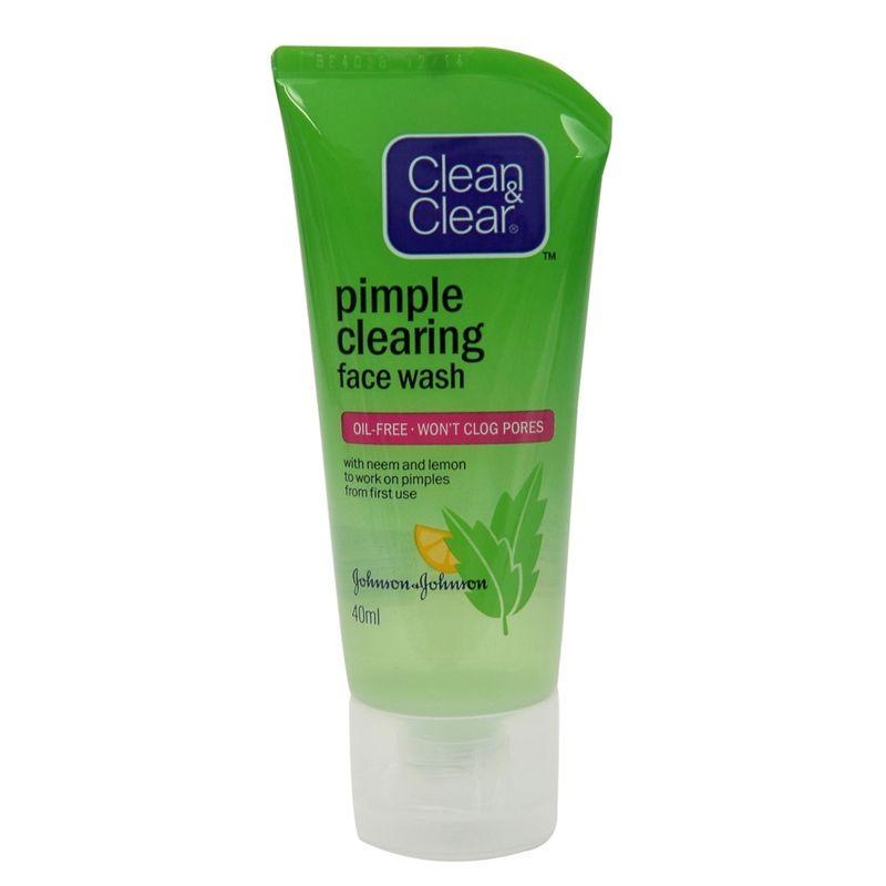 CLEAN & CLEAR PIMPLE CLEARING FACEWASH