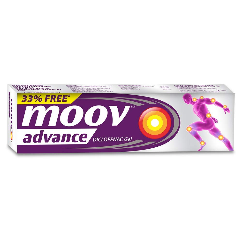 MOOV ADVANCE DICLOFENAC GEL