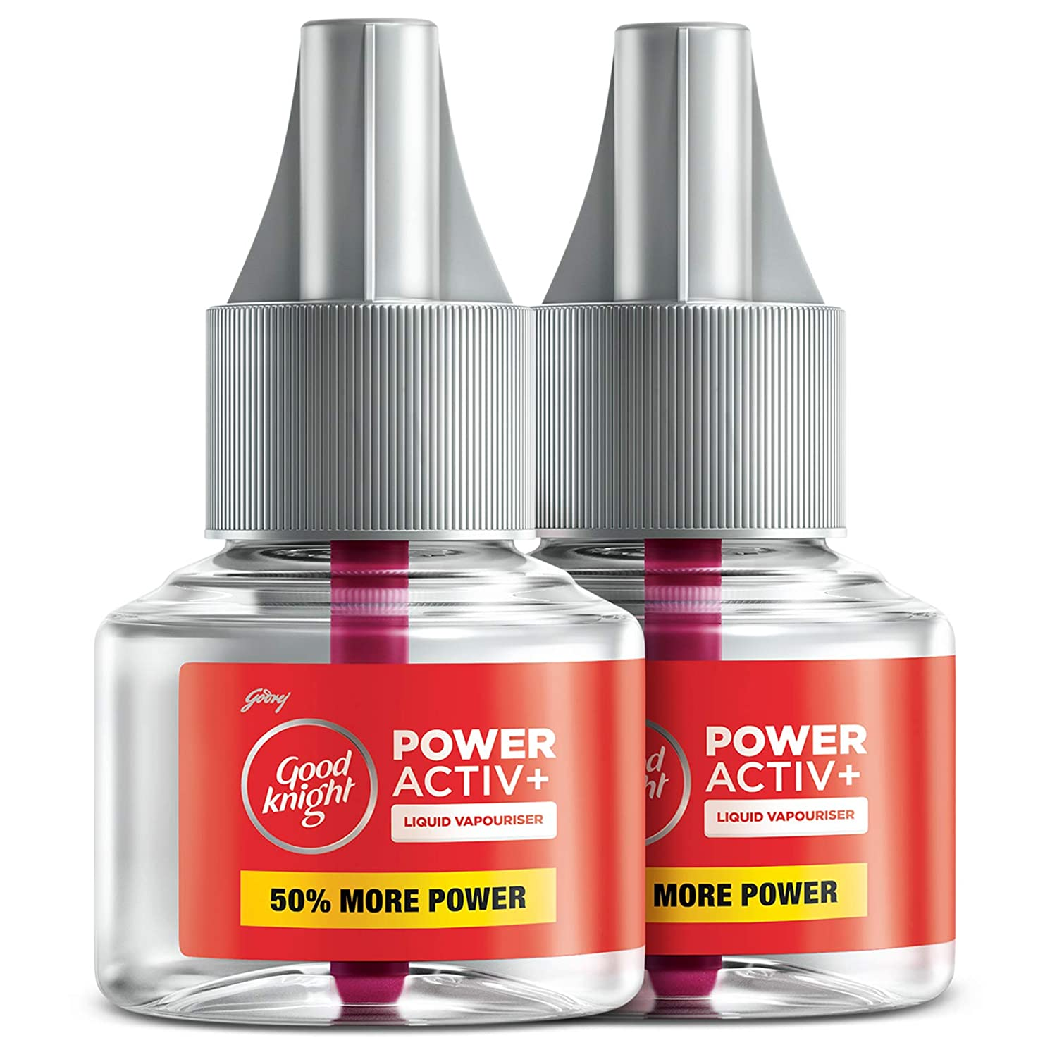 GOOD KNIGHT POWER ACTIVE+ 45 ML X 2