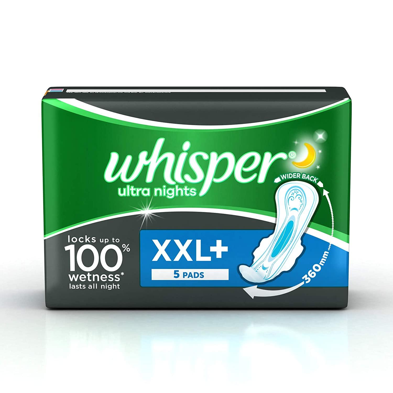 WHISPER ULTRA NIGHTS XXL SANITARY PAD