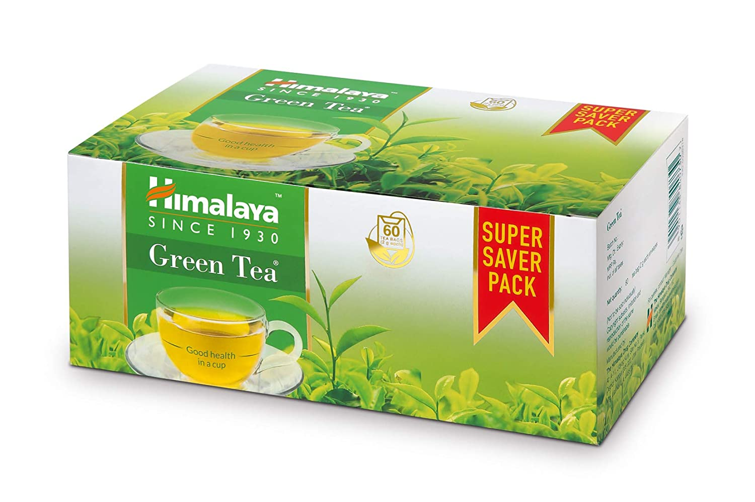 HIMALAYA GREEN TEA 60'S 300/-
