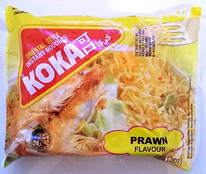KOKA PRAWN FLAVOUR NOODLES