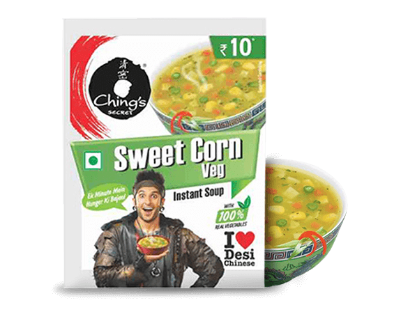 CHING'S Sweet Corn Veg Instant Soup