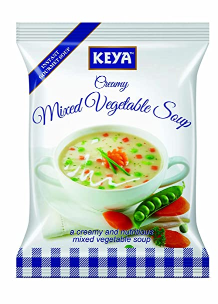 Keya Creamy Mixed Vegetable Soup