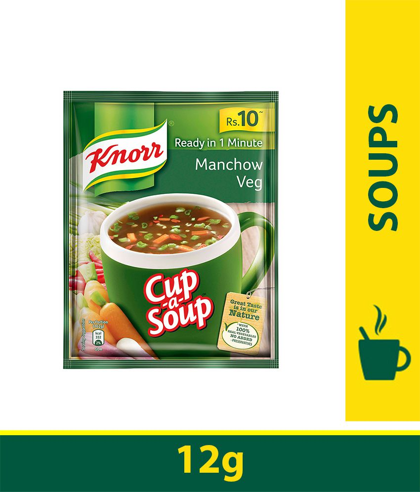 KNORR INSTANT MANCHOW SOUP