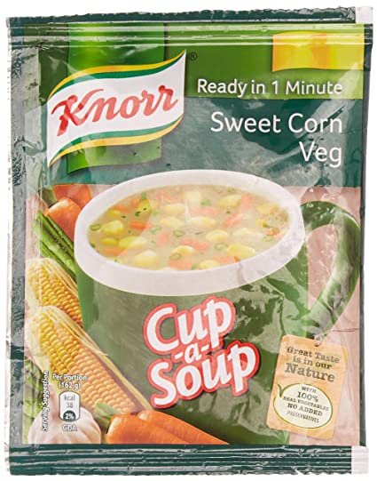 KNORR INSNT SOUP SWEET CORN
