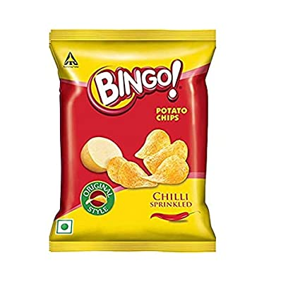 BINGO ORIGINAL STYLE CHILLI SPRINKLED 130g