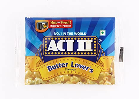 ACT II MICROWAVE POPCORN BUTTER LOVER'S