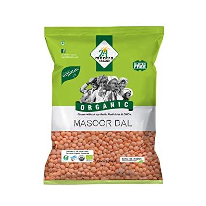 24 MANTRA ORGANIC MASOOR DAL 500 gm