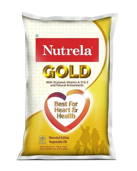 NUTRELA GOLD VEG OIL POUCH