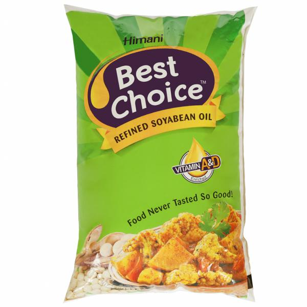 HIMANI BEST CHOICE  SOYA OIL 1l PP