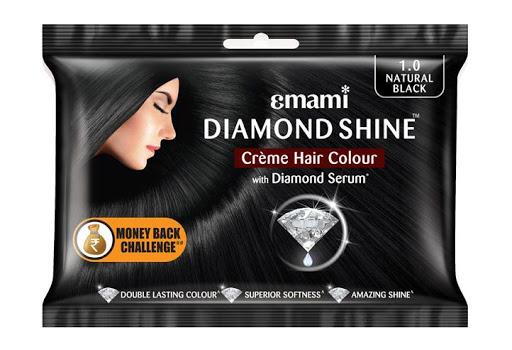 EMAMI SHINE HAIR CLR BLACK