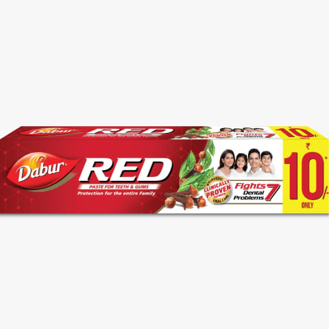 RED TOOTH PASTE PK12
