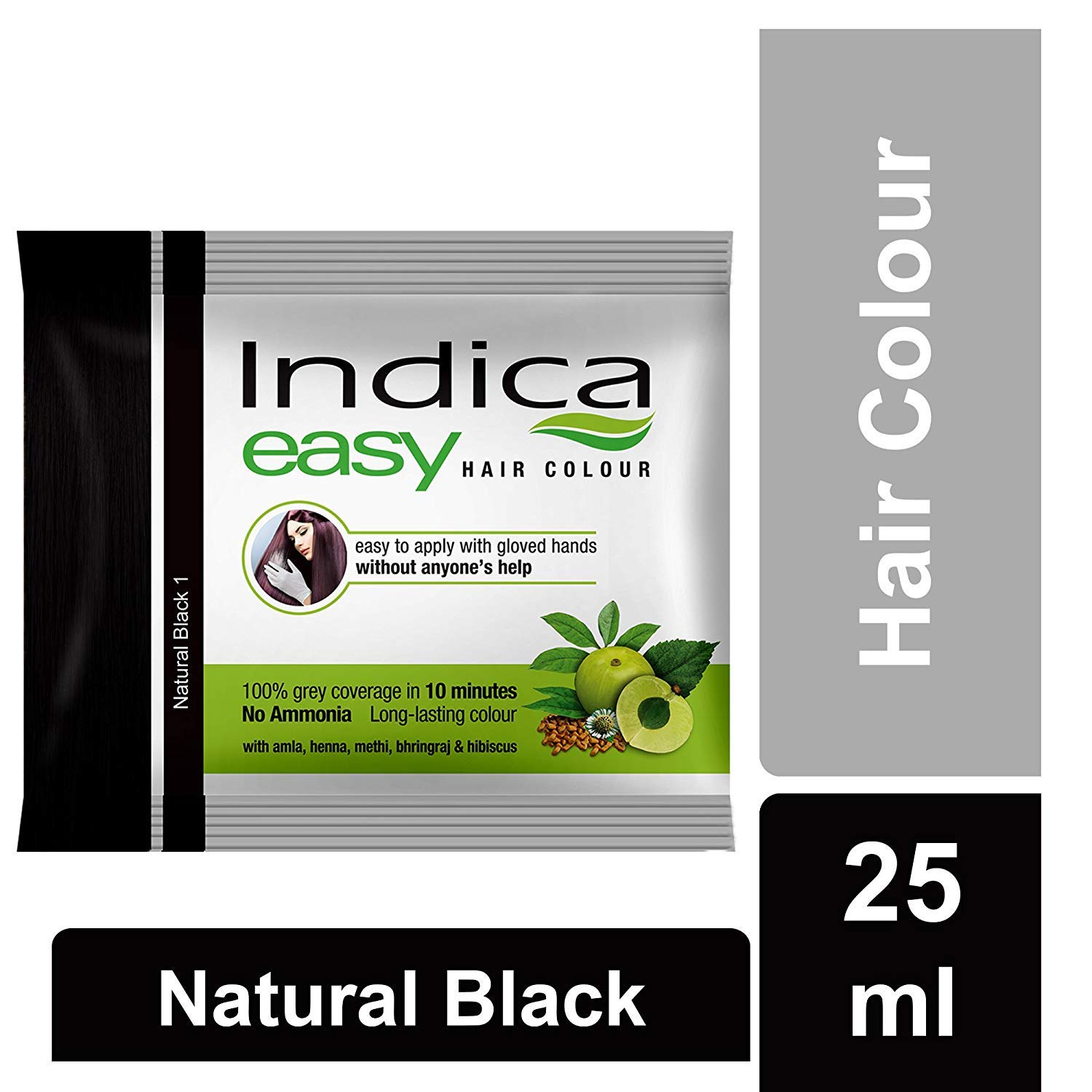 Indica Easy Hair Colour, Natural black