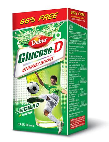 Dabur Glucose-D 66% Free