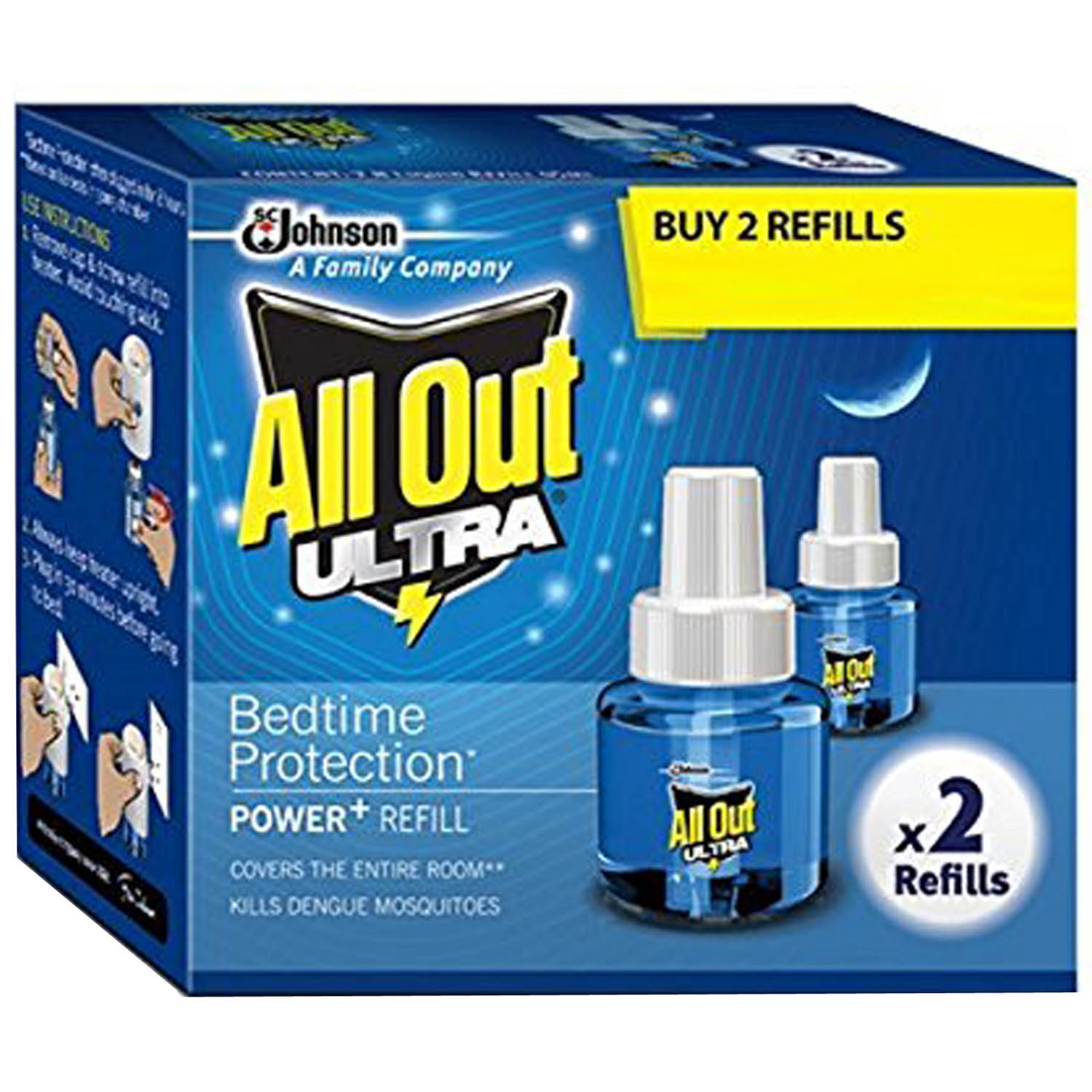 ALL OUT ULTRA REFILL TWIN PACK
