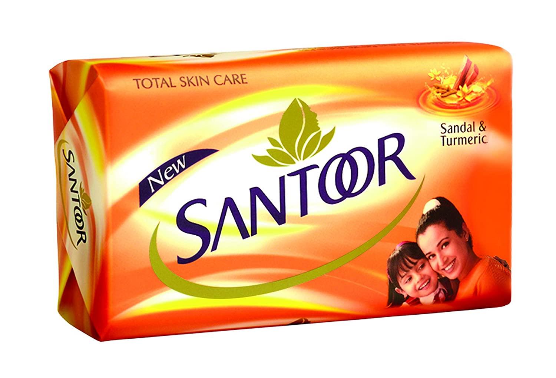 Santoor Soap - Sandal & Turmeric