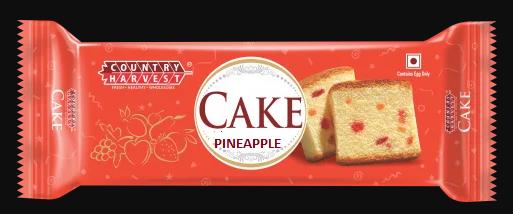 COUNTRY HARVEST BAR CAKE PINEAPPLE 45GM