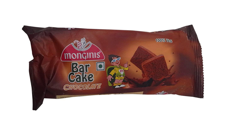 MONGINIS BAR CAKE CHOCOLATE 45GM