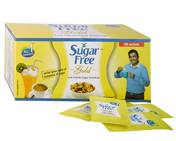 SUGARFREE GOLD SACHET .75gX100