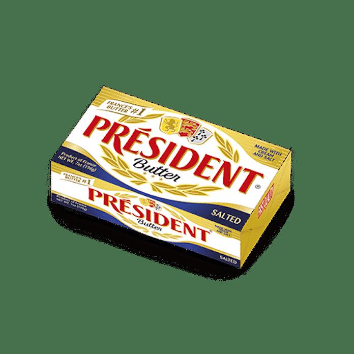 T M PRESIDENT BUTER SALTED