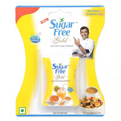 SUGARFREE GOLD 100 TAB 65/-