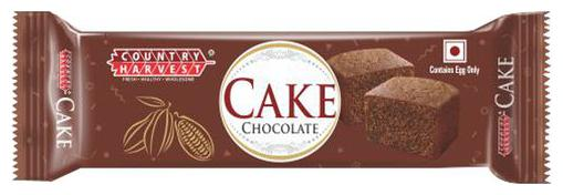 COUNTRY HARVEST BAR CAKE CHOCOLATE