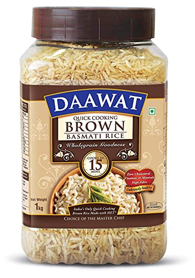 DAAWAT BROWN RICE JAR