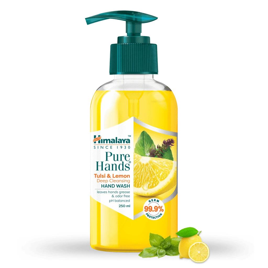 Himalaya Pure HandWash Tulsi and Lemon