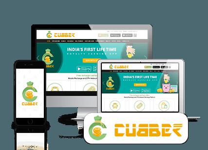 Cubber Main Banner Menu