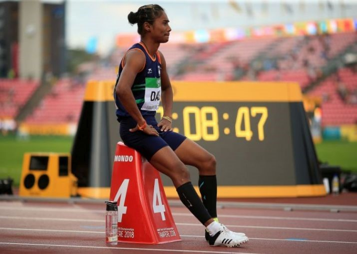 Hima Das, nicknamed the Dhing Express, is an Indian sprint runner from the state of Assam