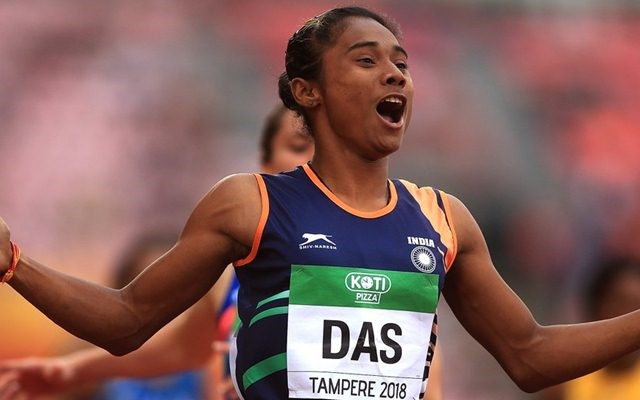 Hima Das Olympic athlete