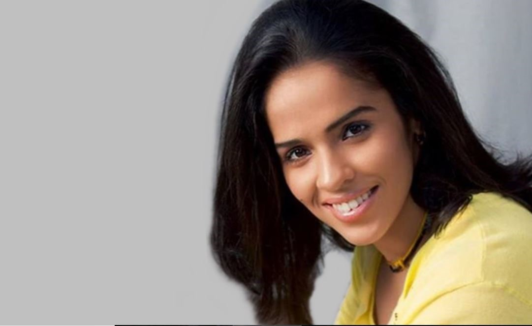 Saina Nehwal is an Indian professional badminton singles player.