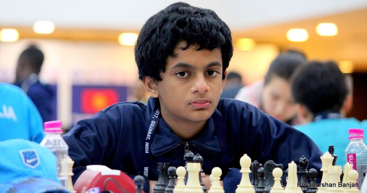 Nihal Sarin is a 14-year-old Indian Chess Grandmaster with a FIDE rating of 2610.
