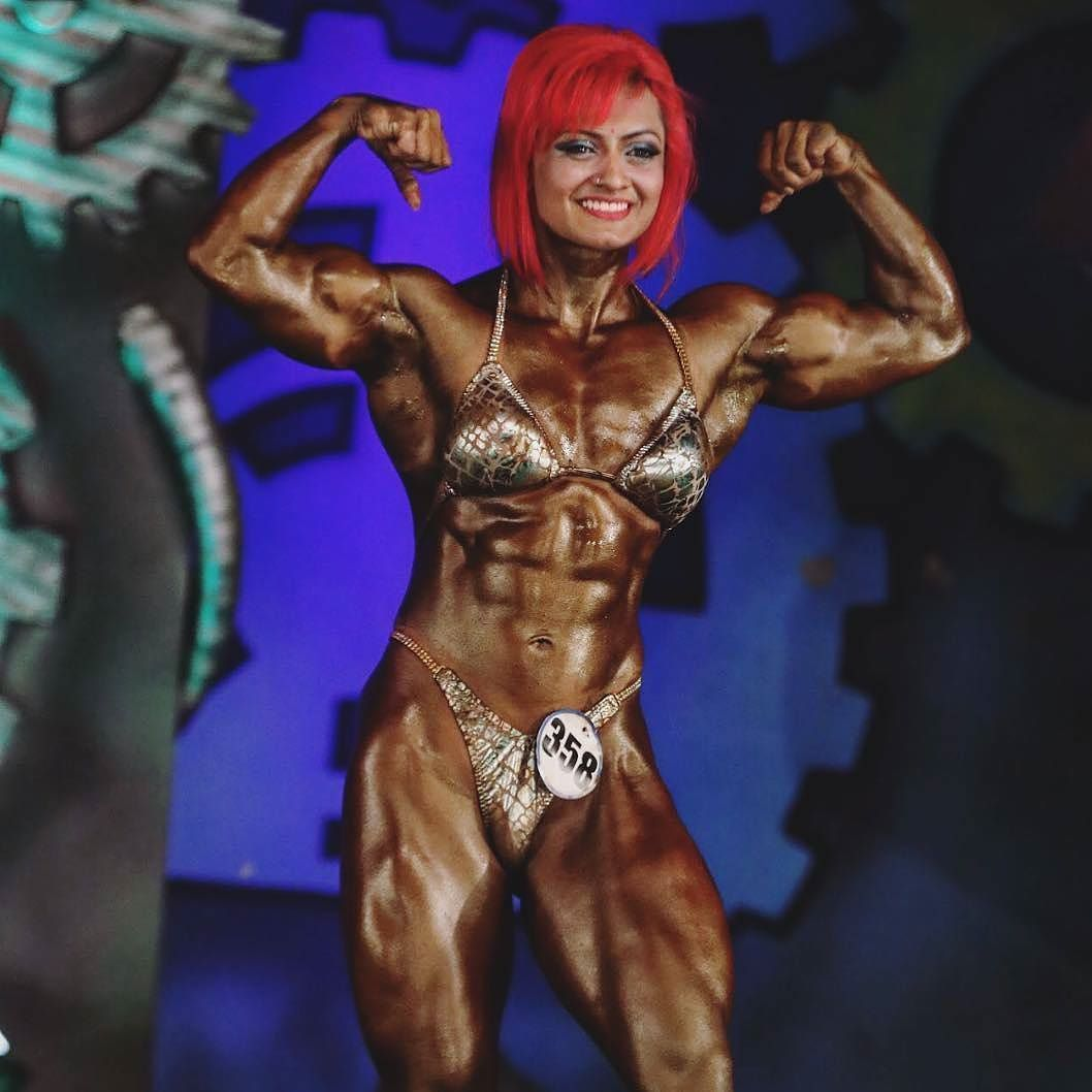 Europa Bhowmik Youngest Indian Female Bodybuilder