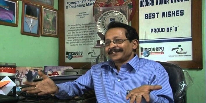 Uddhab Bharali, is an Indian inventor from the Lakhimpur district of Assam.