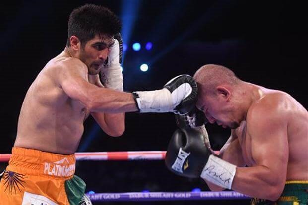 Vijender Singh: The Unbeaten Pro Boxer From India