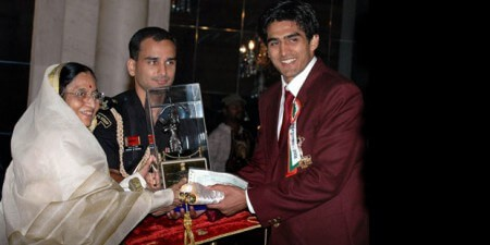 Vijender Singh Beniwal, better known as Vijender Singh is an Indian professional boxer