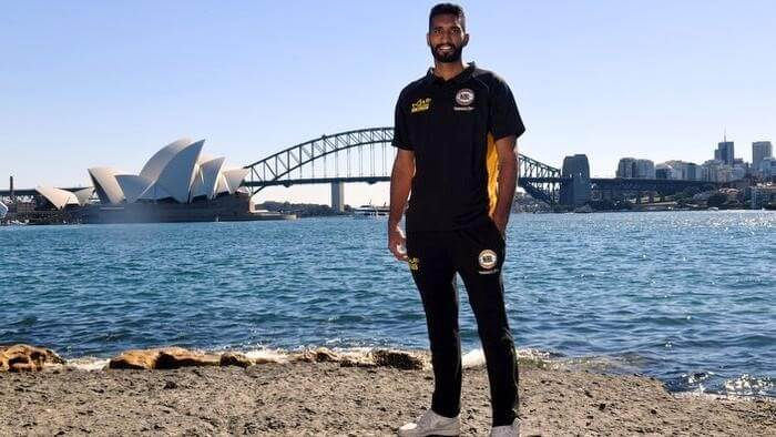 Amritpal Singh is now the 1st Indian to play for the Australian NBA!