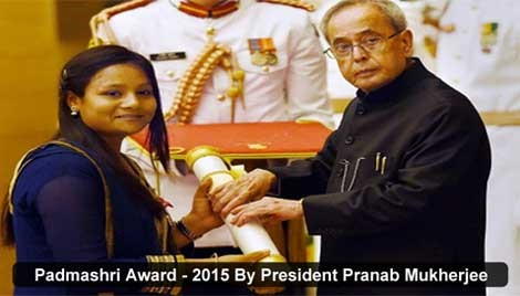 Arunima Sinha is the world record holder in amputee division to climb Mount Everest.