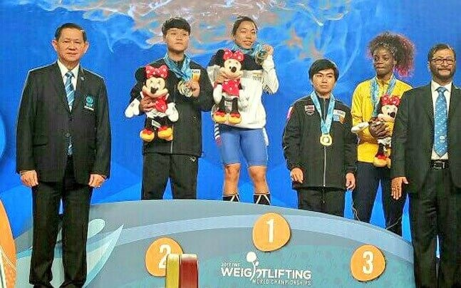 Saikhom Mirabai Chanu has won the World Championships and multiple medals at the Commonwealth Games.