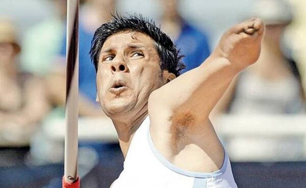Devendra Jhajharia is an Indian Paralympic javelin thrower competing in F46 events.