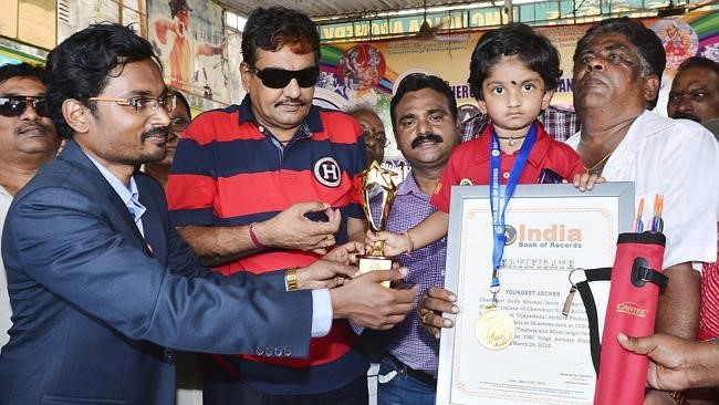 Dolly Sivani, Vijayawada Archer Sets Two Records.
