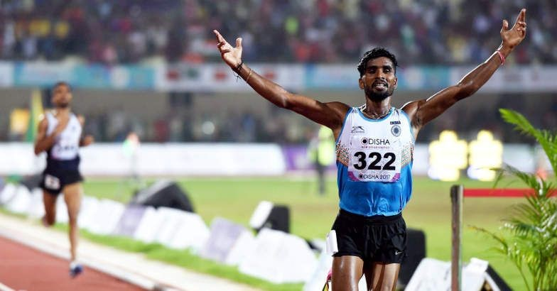 Govindan Lakshmanan rewarded with Rs 10 lakh after winning hearts at Asian Games