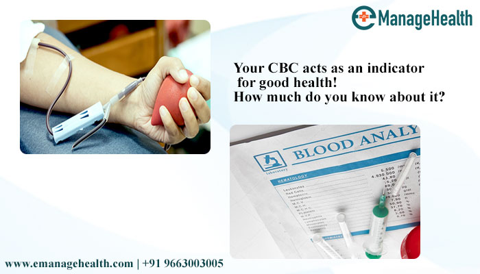 How much do you know about your CBC (complete blood count), Blog eManageHealth