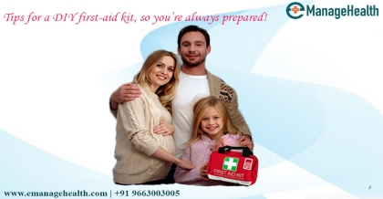 Putting together a first aid kit for home!