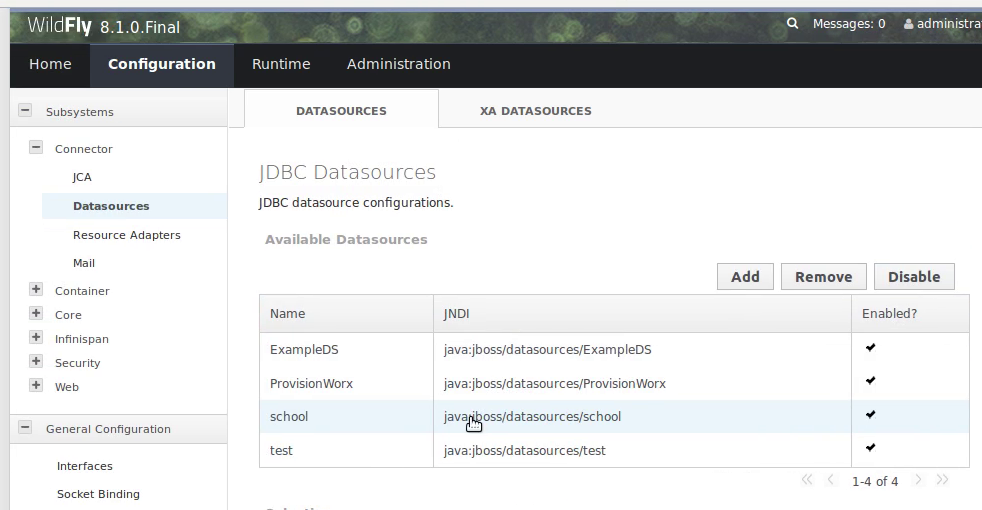 Creating MySql datasource in Wildfly 8 | ExamsMyantra