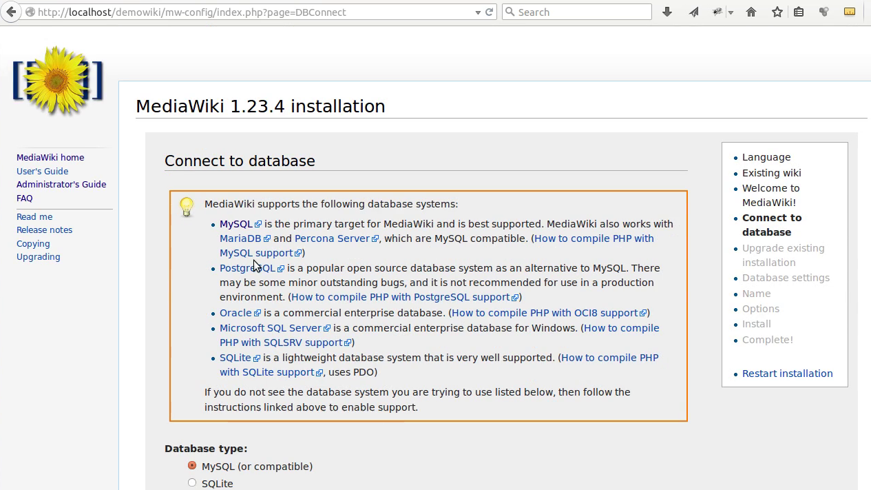 Mediawiki Installation 5